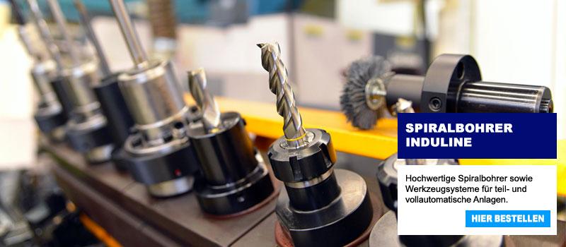 PL-Werkzeuge Induline Spiralbohrer
